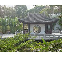Ancient Chinese Garden Photographic Print