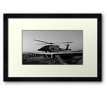 USCG 8 Framed Print