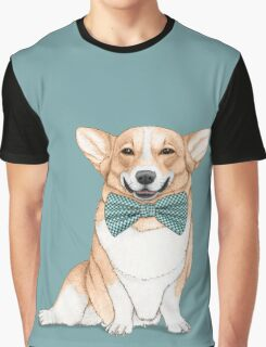 Corgi Dog Graphic T-Shirt