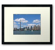 Center Island, Toronto. Ontario. Canada Framed Print