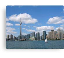 Center Island, Toronto. Ontario. Canada Canvas Print