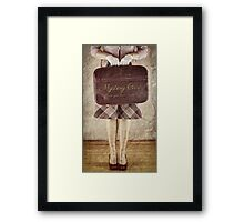 Mystery Case. Framed Print