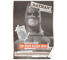 The Dark Knight Rises Tabloid Poster