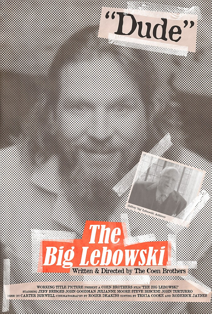The Big Lebowski Tabloid by Robert Knight