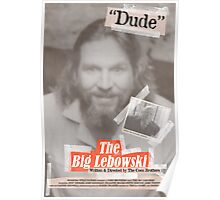 The Big Lebowski Tabloid Poster