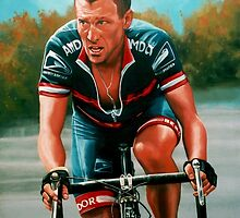 Lance Armstrong by PaulMeijering