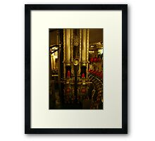 Artillery room Framed Print