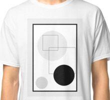 Grey Circles - 2 Classic T-Shirt
