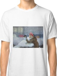 Winter Thoughts Classic T-Shirt