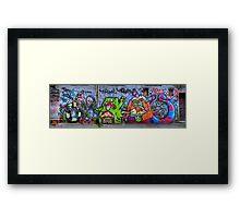 Snakes in a Lane Framed Print
