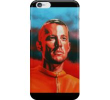 Lance Armstrong Painting iPhone Case/Skin