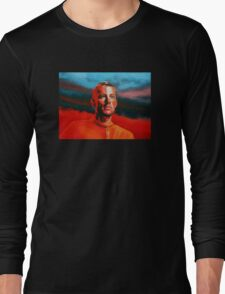 Lance Armstrong Painting Long Sleeve T-Shirt