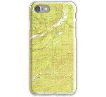 USGS Topo Map Washington State WA Aladdin 239770 1952 24000 iPhone Case/Skin