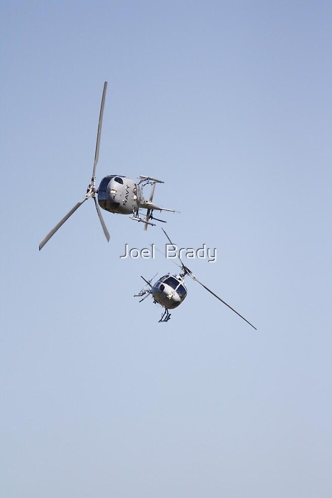Australian Navy choppers by Joel  Brady