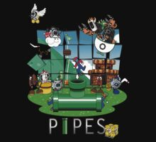 """PIPES"" by KitFox21187"