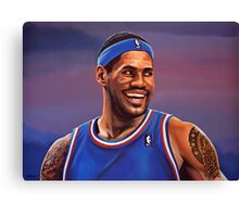 LeBron James Painting Canvas Print