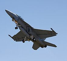 Australian air force FA-18 Super Hornet  by Joel  Brady