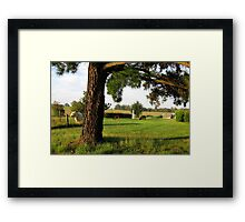 St Mary's Towers Retreat Centre Douglas Park NSW Framed Print