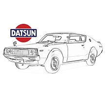 Datsun 240k with logo by jacqs