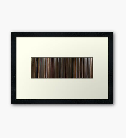 Moviebarcode: Life is a Miracle / Zivot je cudo (2004) Framed Print
