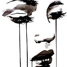 untitled face #5 by Loui  Jover
