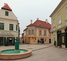 Győr's square III by zumi