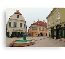 Győr's square III Canvas Print