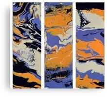 Triple Orange Canvas Print