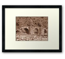 Bath of Varius - Ephesus Framed Print
