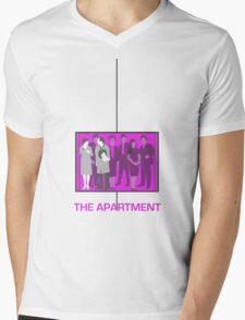 The Apartment (1960) Elevator Shirt Mens V-Neck T-Shirt