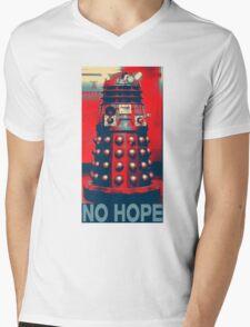 No Hope Dalek Mens V-Neck T-Shirt