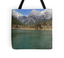 Jade Dragon Snow Mountain Tote Bag