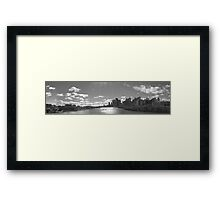 Brisbane City and Southbank Framed Print