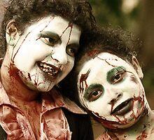 Shooting Zombies by chasingsooz