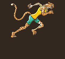 Olympic Runner Cheetah Unisex T-Shirt