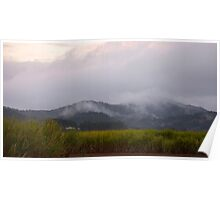Condong morning mist Poster