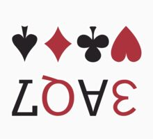 LOVE playing cards by w1ckerman