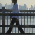 Walking to Work - New York City by Mary-Elizabeth Kadlub