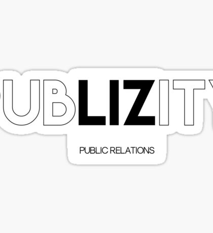 The Kroll Show Publizity Logo Sticker