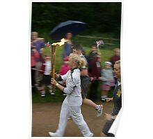 Carrying the Flame Poster