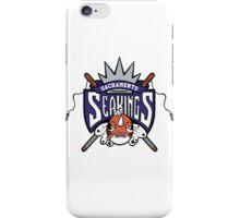 Sacramento Seakings GBA  iPhone Case/Skin
