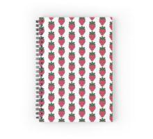 Strawberry Kawaii Design Spiral Notebook
