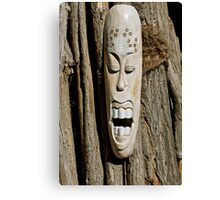 African Mask Canvas Print