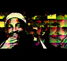 Barack Obama and Marvin Gaye (color 2) by ARTofMEWA