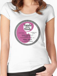 TOTW09/2012 - Troilo / Fiorentino - TK - Purple Women's Fitted Scoop T-Shirt