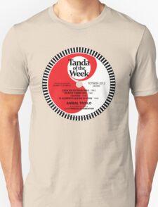 TOTW09/2012 - Troilo / Fiorentino - TK - Red Unisex T-Shirt