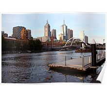 Southbank Melbourne VIC Poster