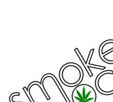 Smoke Local Weed in Pennsylvania (PA) Sticker
