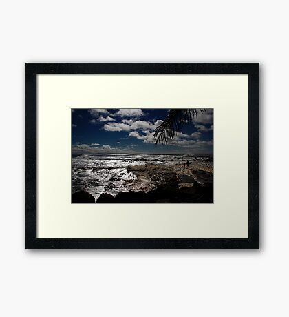 Froth and Bubble Framed Print