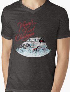 Merry Fiat Christmas! Mens V-Neck T-Shirt
